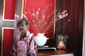 イメージ(館内ロビーお雛祭り)