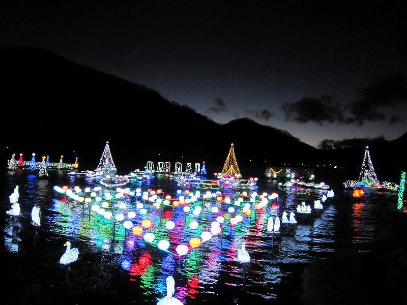 冬のおすすめ観光:榛名湖イルミネーション月別アーカイブ内容
